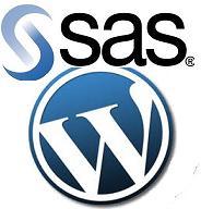 wordpress with sas
